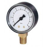 manometer Ø 50 mm, ABS, 1,6 bar, onder G1/4