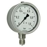 buisveermanometer, chemie, vloeistofgedempt