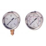 buisveermanometer, standaard, vloeistofgedempt