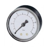 manometer, Ø 40 mm, ABS, 1,6 bar, achter R1/4