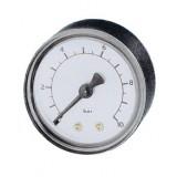 manometer Ø 63 mm, ABS, 1,6 bar, achter 1/4NPT