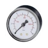 manometer Ø 63 mm, ABS, 4 bar/psi, achter G1/4