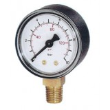 manometer Ø 63 mm, ABS, 1,6 bar/psi, onder G1/4