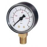 manometer Ø 63 mm, ABS, 4 bar/psi, onder G1/4