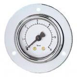 manometer Ø 63 mm, ABS, paneelmeter met voorflens, 10 bar, achter G1/4